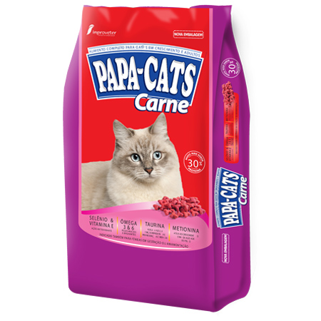 Papa Cats Carne