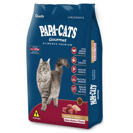 Papa Cats Gourmet Carne e Arroz