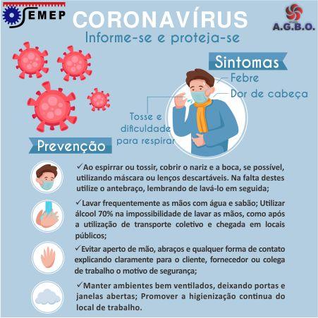 Coronavírus :: Informe-se e proteja-se