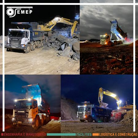 SEMEP realiza operação na AMG Mineração de Nazareno-MG