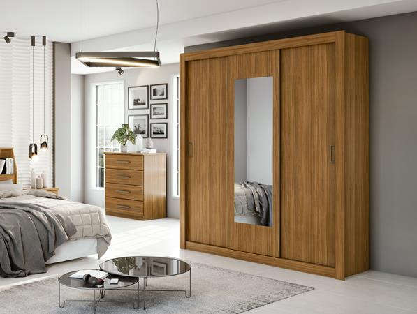 Wardrobe Apoena Plus 3 Doors