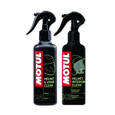 MC CARE ™ M1 HELMET & VISOR CLEAN + MC CARE ™ M2 HELMET INTERIOR CLEAN